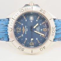 Breitling Shark Quartz Blue Dial Steel 42mm