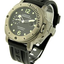 Panerai PAM00025 PAM 25 - Luminor Submersible in Titanium -...