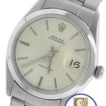 Rolex Oysterdate Precision Stainless Swiss Manual Watch 6694