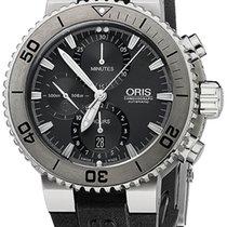 Oris Aquis Titan Chronograph 46mm 01 674 7655 7253-07 4 26 34TEB