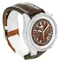 Breitling Bentley Motors Chronograph White Dial Mens Watch A25362