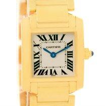 Cartier Tank Francaise Small 18k Yellow Gold Quartz Watch...