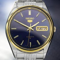 Seiko 5 Day Date Automatic Mens Vintage Japanese Watch Ref...