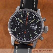 Fortis Flieger Automatik Chronograph Herrenuhr Stahl 597.10.141