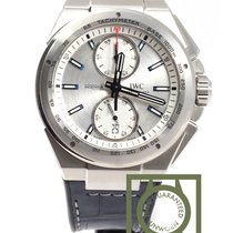 IWC Ingenieur Chronograph racer 45mm Silver Plated Dial  NEW