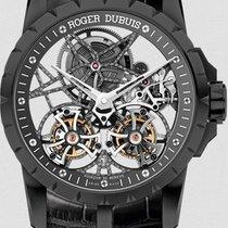 Roger Dubuis Excalibur 45 Skeleton double flying tourbillon