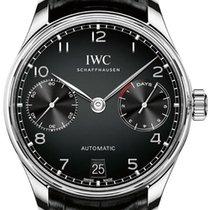 IWC Portugieser Automatic iw500703 7 Days Power Reserve Black...