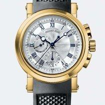 Breguet Marine Chronograph in 18k yellow gold - full set 2007...
