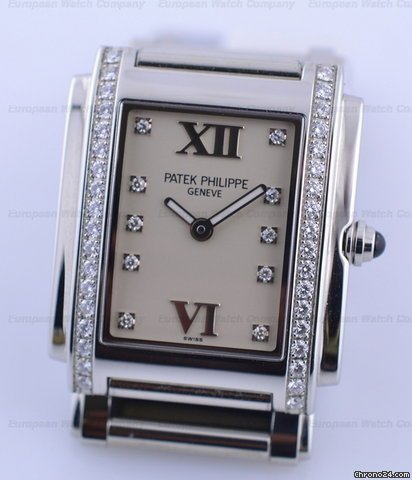 Patek Philippe Twenty-4 4910 SS/SS Cream Dial