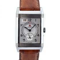 Jaeger-LeCoultre Reverso Day-date Grand Taille In Acciaio Ref....