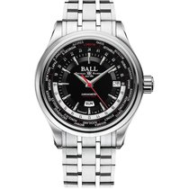 Ball Trainmaster Worldtimer Automatik Herrenuhr GM2020D-S1CJ-BK