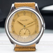 IWC Vintage Caliber 83 RARE Two-Tone Pink Dial SS