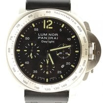Panerai Luminor Daylight Pam 250 Chronograph Steel Automatic...