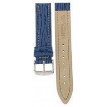 Hirsch Chrono Shark Blue Leather 18mm