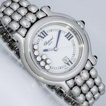 Chopard 32mm Happy Sport 7 Diamanten