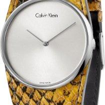 ck Calvin Klein Spellbound K5V231Z6 Damenarmbanduhr flach...