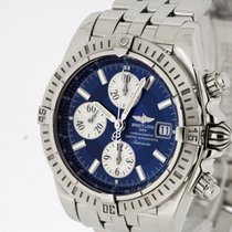 Breitling Chronomat Evolution Chronometer A1335611 Box &...