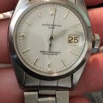 Rolex 5700 Ss Vintage Perpetual Date 34mm White Dial, 1560...
