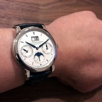 A. Lange & Söhne Saxonia Annual Calendar Moonphase White...