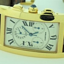 Cartier Tank Americaine American Chronograph 18K Solid Gold