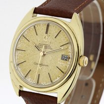 Omega Constellation Chronometer Vintage Watch Gold Cape...