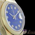 Rolex Lady-Datejust mit Brillantbesatz und Lapis Lazuli Dial...