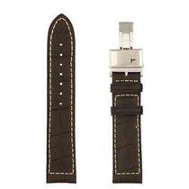 Hamilton Khaki Navy XL Lederband dunkelbraun 21/20mm H600.776.107