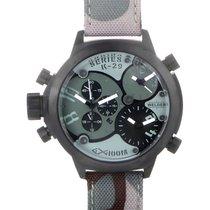 Welder Triple Time Zone Chronograph Men's Watch K29-8004