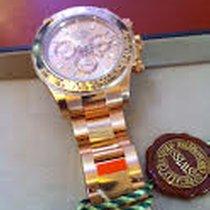Rolex Daytona OR Rose Index Diamants Baguettes