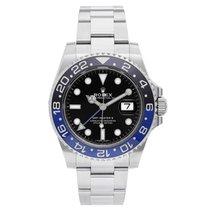Rolex Men's Rolex GMT-Master II Steel Watch with Blue/Blac...
