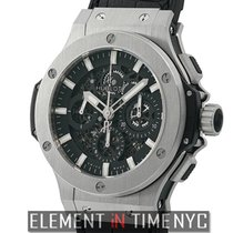 Hublot Big Bang Aero Bang Stainless Steel 44mm Black Dial Ref....