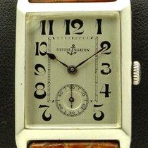 Ulysse Nardin Rectangular Silver watch, from twenties