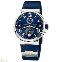 Ulysse Nardin Marine Chronometer Manufacture Stainless Steel...