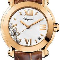 Chopard Happy Sport Round Quartz 36mm 277471-5001 brown