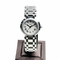 Longines Prima Luna Stainless Steel With Diamonds Silver...