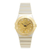 Omega Constellation Gold And Steel Gold Quartz 123.20.27.60.58...