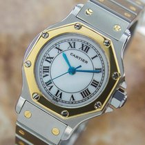 Cartier Santos Luxurious Ladies Swiss Automatic 18k And...