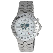 Ebel Stainless Steel Automatic Calendar World Time Wristwatch