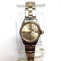 Rolex Oyster Perpetual Date 2 Tone 18k Yellow Gold & Steel...