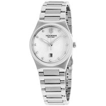 Victorinox Swiss Army Alliance Mop Dial Stainless Steel Ladies...