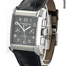 Baume & Mercier Hampton Rectangular Black Dial - 10030