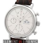 IWC Portofino Collection Chronograph Stainless Steel Silver...