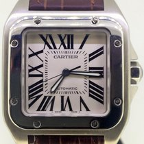 Cartier Santos 100 XL Stainless Steel [ Fullset B&P - Like...