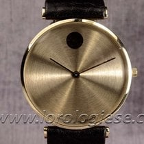 Movado Zenith Museum Watch 18kt. Gold Extra-platte Vendome...