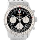 Breitling Navitimer Chronograph Black Dial Steel Watch A23322
