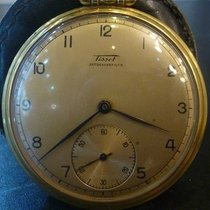Tissot vintage pocket watch gold plated 982/2