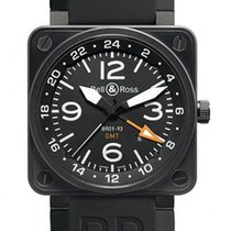 Bell & Ross Aviation BR01-93-GMT 24H Automatic Mens Watch