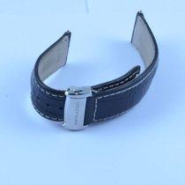 Hamilton Leder Armband Bracelet 22mm Mit Faltschliesse 20mm
