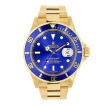 Rolex Submariner 18K Yellow Gold Watch 2006