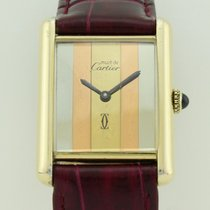 Cartier Must de Cartier Quartz Silver Lady
